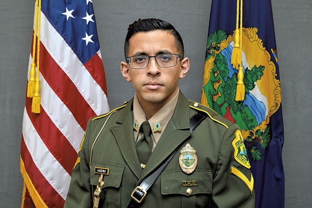 Nader Hashim - COURTESY OF VERMONT STATE POLICE