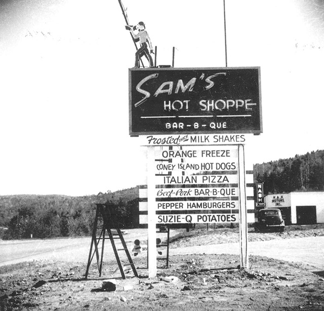 Sam's Hot Shoppe - COURTESY OF STEAK HOUSE RESTAURANT
