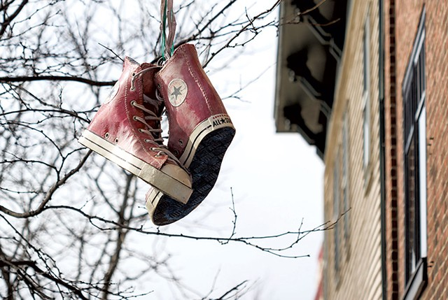 The Sneakers sign - OLIVER PARINI