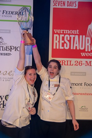 The Winners: Laura Johnson & Amber Corey from The Essex, Culinary Resort & Spa - STEPHEN MEASE