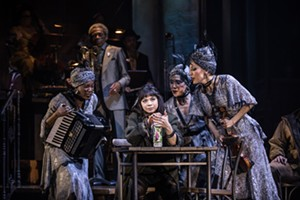 Eva Noblezada and the Broadway cast of 'Hadestown' - MATTHEW MURPHY