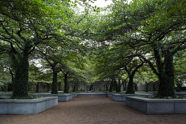 Art Institute of Chicago, South Garden, Ill. - COURTESY OF THE CULTURAL LANDSCAPE FOUNDATION