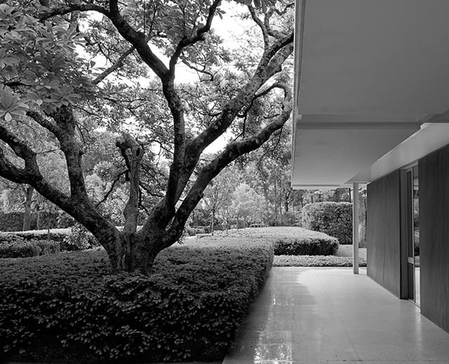 Miller Garden, Columbus, Ind. - COURTESY OF THE CULTURAL LANDSCAPE FOUNDATION