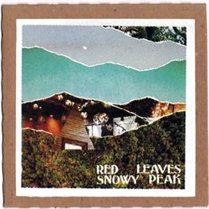 Old Sky, Red Leaves Snowy Peak