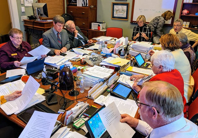 Vermont's House Appropriations Committee - TAYLOR DOBBS