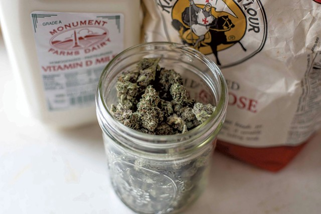 """Some of the ingredients """"Bobby"""" uses to make cannabis-infused sausage and gravy - GLENN RUSSELL"""