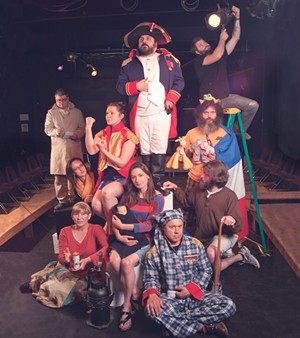Cast of The Napoleon in 2012 - FILE: MATTHEW THORSEN