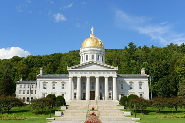 The Vermont Statehouse - DREAMSTIME