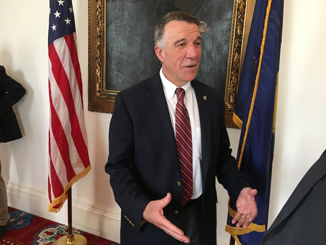 Gov. Phil Scott - JOHN WALTERS