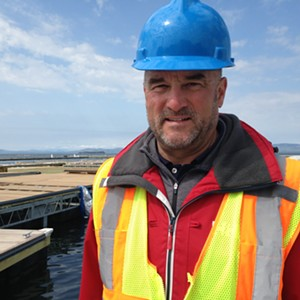 Jack Wallace, co-owner and codeveloper of Burlington Harbor Marina. - MOLLY WALSH