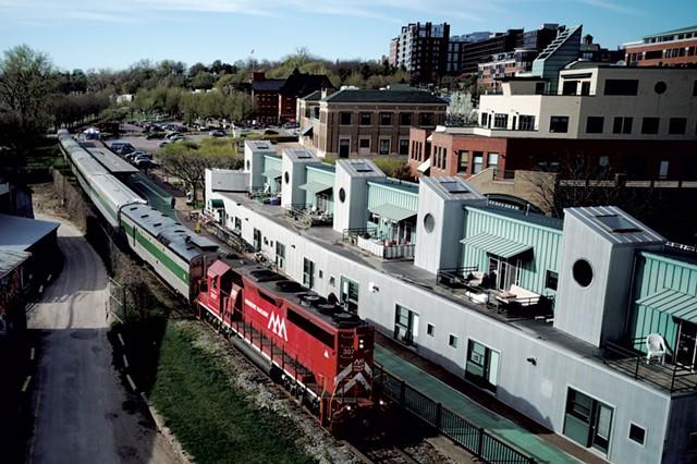 The Champlain Valley Dinner Train - COURTESY OF JAMES BUCK