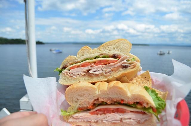 Sandwich at Hero's Welcome - COURTESY OF SASHA GOLDSTEIN
