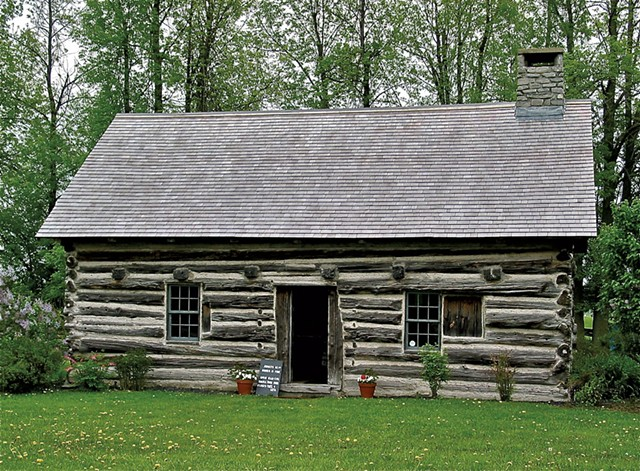 Hyde Log Cabin - COURTESY OF GRAND ISLE HISTORICAL SOCIETY