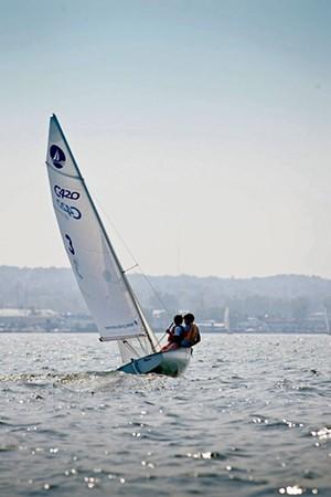 Community Sailing Center - COURTESY OF SHAYNE LYNN