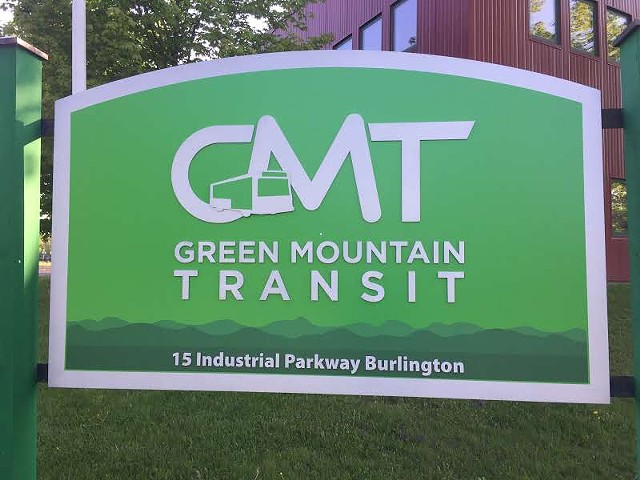 Green Mountain Transit's Burlington headquarters - SASHA GOLDSTEIN