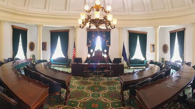 The Vermont Senate room - DREAMSTIME