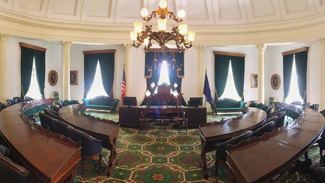 The Vermont Senate room - DREAMSTIME