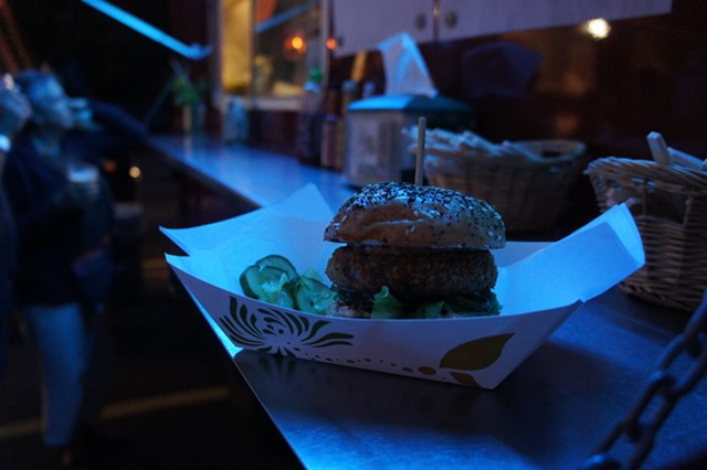 Crispy duck sandwich from the Hindquarter truck - VICTORIA CASSAR