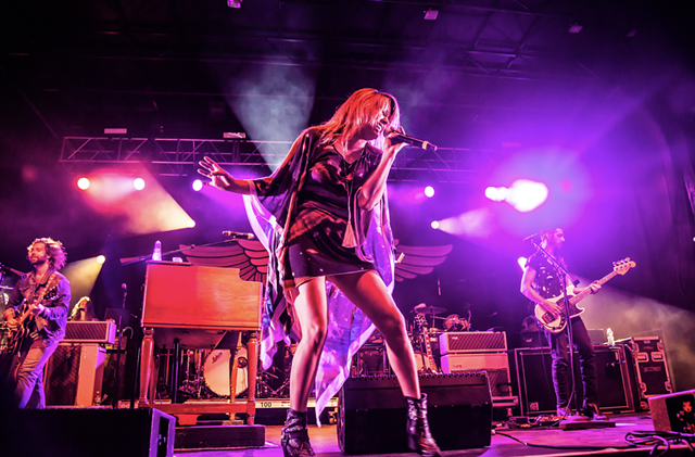 Grace Potter performing at Grand Point North - FILE: BEN HUDSON PHOTOGRAPHY
