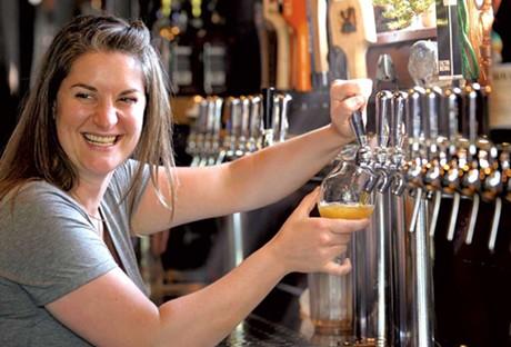 Kate Wise, Best Bartender 2014 - JEB WALLACE-BRODEUR