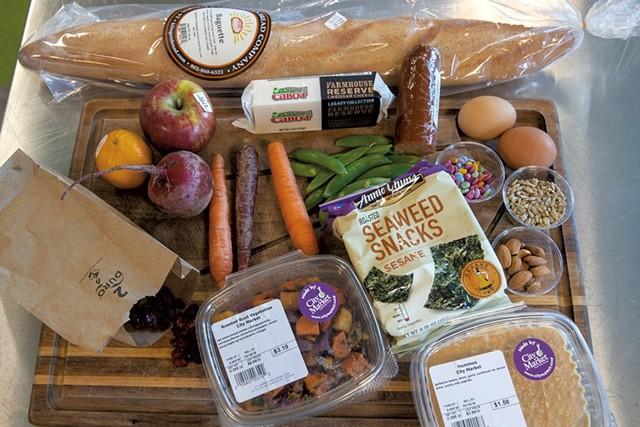 Snack board ingredients - JAMES BUCK