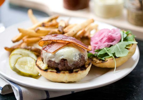 A Farmhouse burger - COURTESY OF FARMHOUSE TAP & GRILL