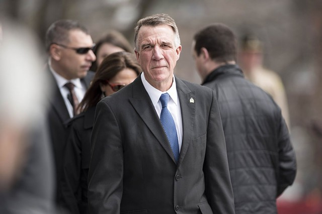 Gov. Phil Scott - FILE: JOSH KUCKENS