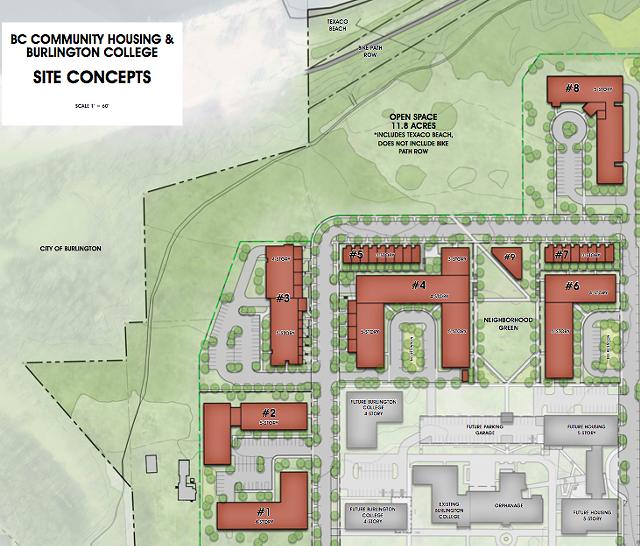 Proposed site plan - COURTESY: T.J. BOYLE ASSOCIATES