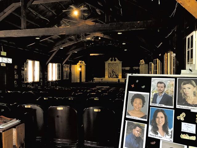The Oscar Seagle Memorial Theater - SABINE POUX