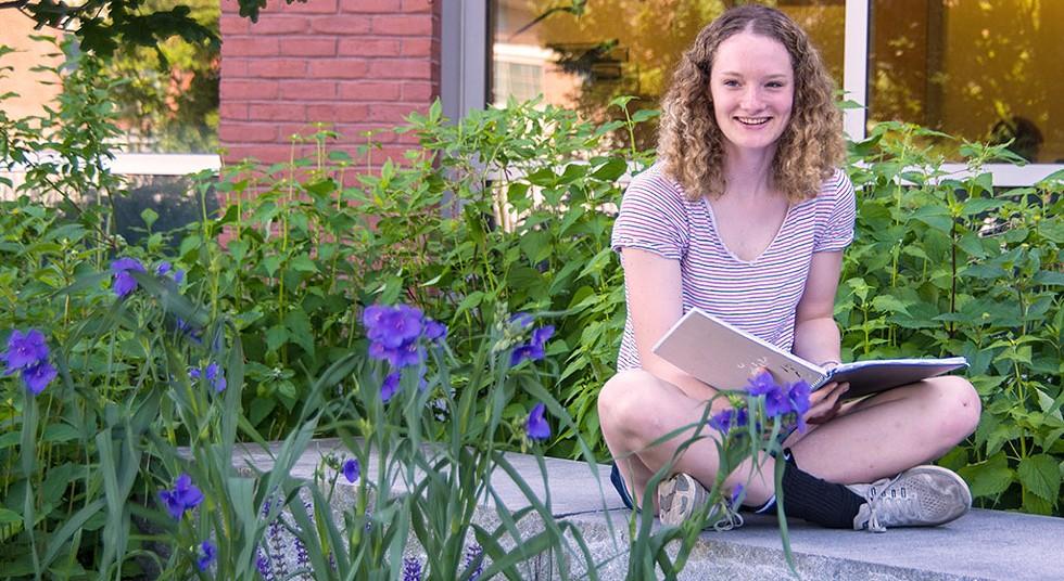UVM Summer Academy student Makenzie Detch - STEPHEN MEASE