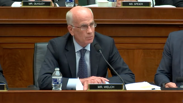 U.S. Rep. Peter Welch (D-Vt.) - SCREENSHOT