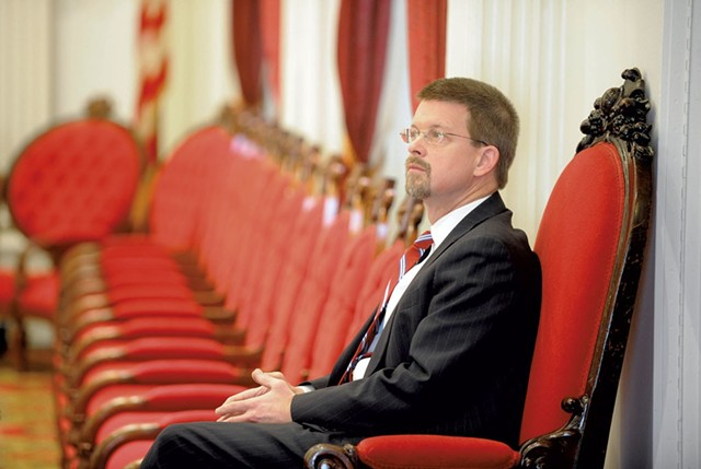 House Speaker Shap Smith - FILE: JEB WALLACE-BRODEUR
