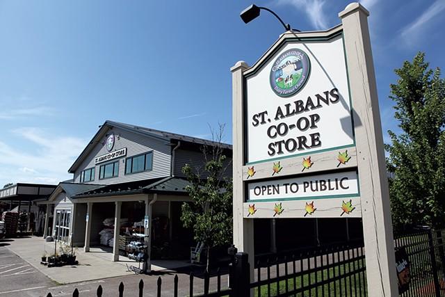 St. Albans Co-op Store - KEVIN MCCALLUM