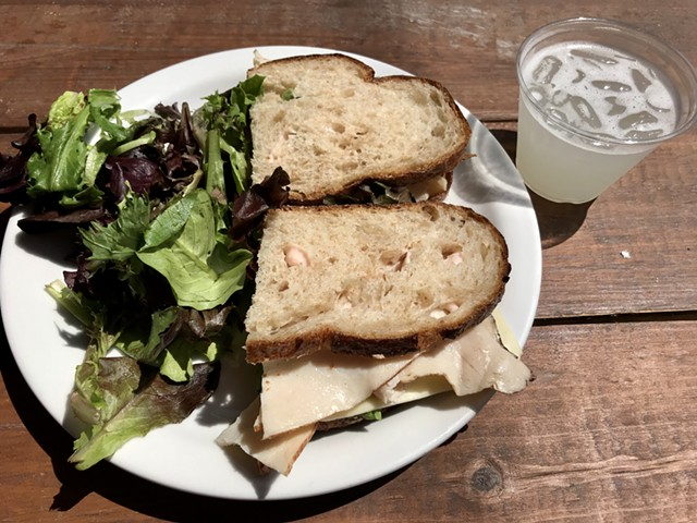 The Vermonter at August First Bakery - SALLY POLLAK