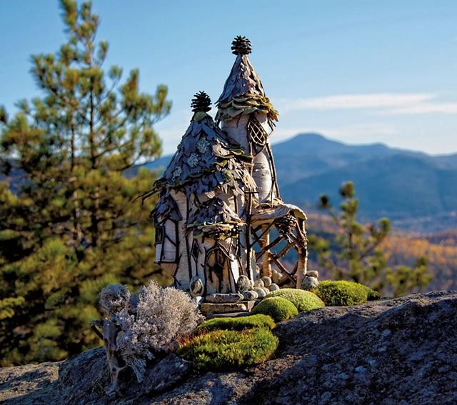 """Adirondack Faerie Lodge"" - COURTESY OF HENRY SHELDON MUSEUM OF VERMONT HISTORY"