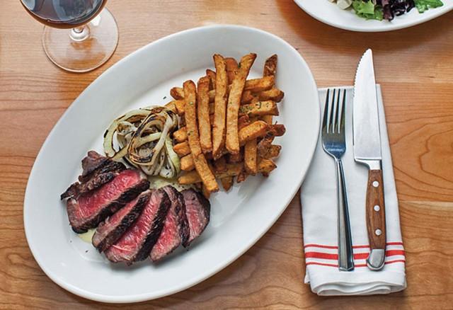 Steak frites at Guild Tavern - COURTESY OF GUILD TAVERN