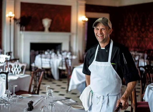 Chef John Patterson - GLENN RUSSELL