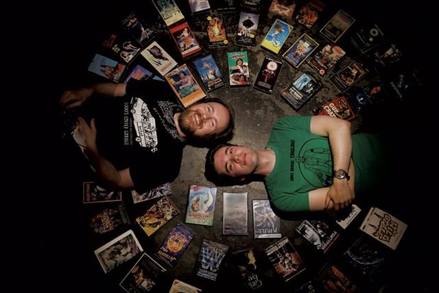 Matt Mazur and Drew Peberdy - SARAH PRIESTAP