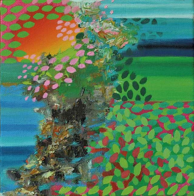 """Switchbacks #17"" by Arista Alanis - COURTESY OF HALL ART FOUNDATION"