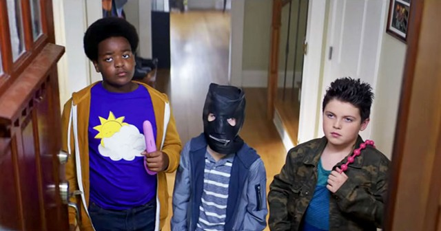 BOY TOYS Rogen and Goldberg rip themselves off for the purpose of producing a child-size Superbad.