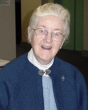 Sister Rose Rowan, RSM, (Sr. M. Edmond)