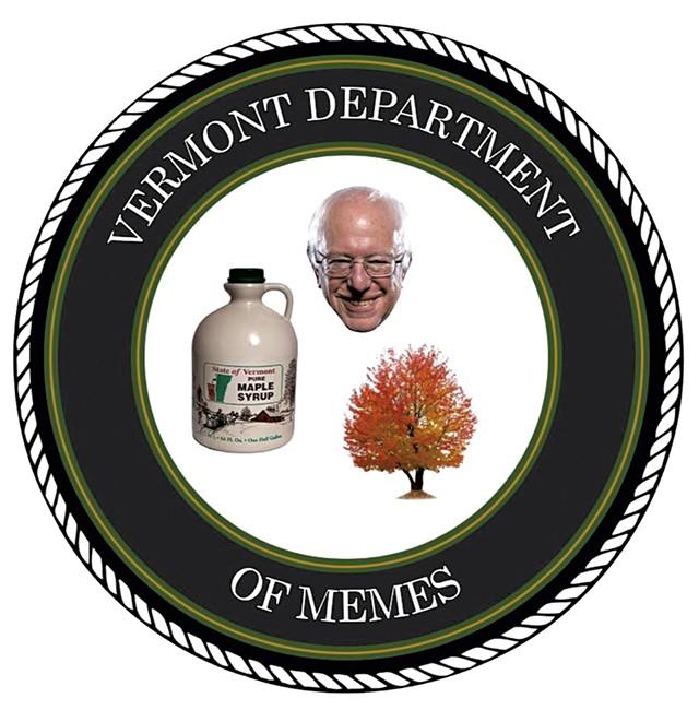 Vermont Department of Memes logo