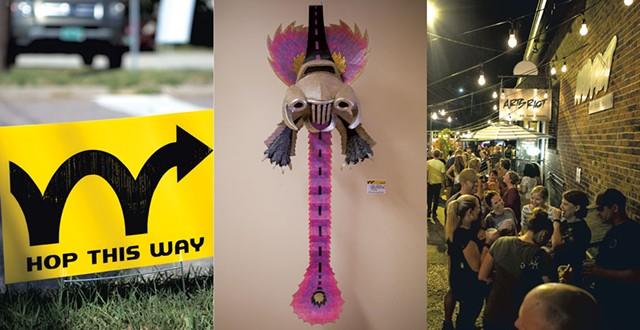The South End Art hop begins Friday - FILE PHOTOS: LUKE AWTRY