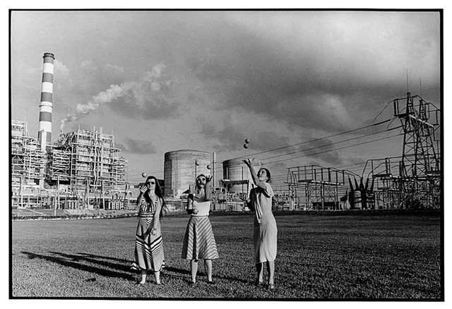 """Turkey Point Nuclear Power Plant, Miami, Florida"" - COURTESY OF BMAC"