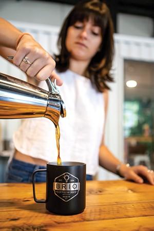 Brio Coffeeworks - LUKE AWTRY