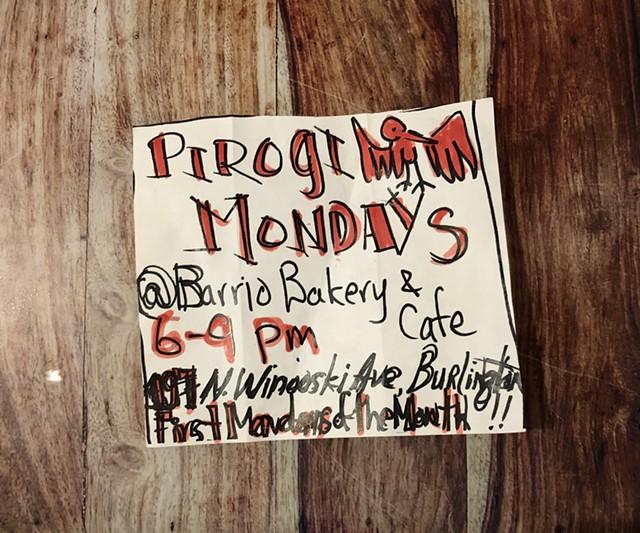 Invitation to Pierogi Mondays by Syp Brand Pierogi - JORDAN BARRY