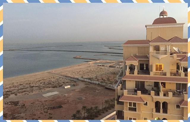 At home in Ras Al Khaimah - COURTESY OF NANCY STEARNS BERCAW