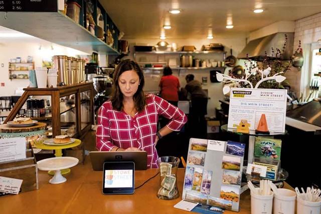 Nicole Grenier at Stowe Street Café - OLIVER PARINI