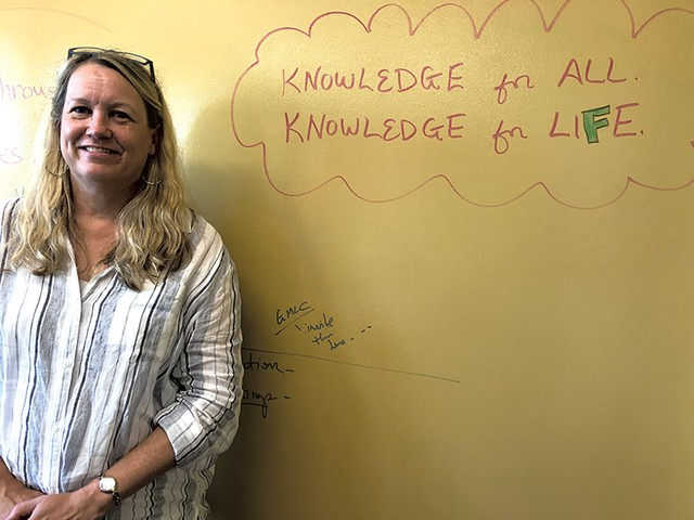 Library director Mary Danko - MOLLY WALSH