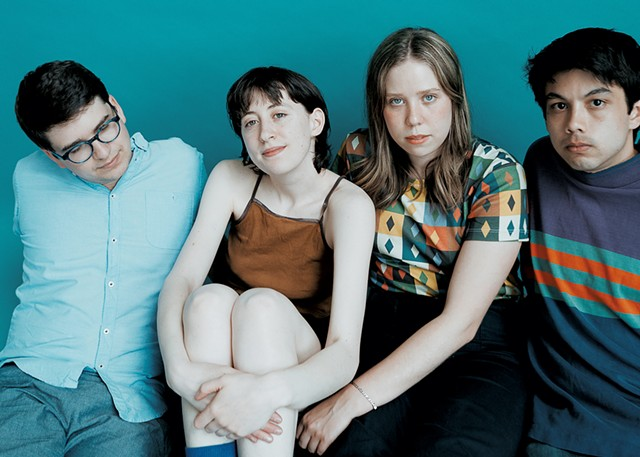 Frankie Cosmos, from left: Luke Pyenson, Greta Kline, Lauren Martin and Alex Bailey - COURTESY OF JACKIE LEE YOUNG